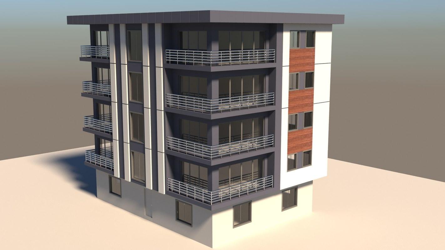 3D build corona model