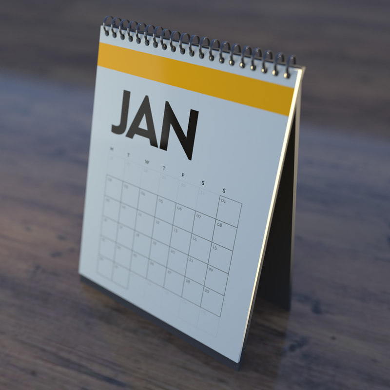 calendar 3D