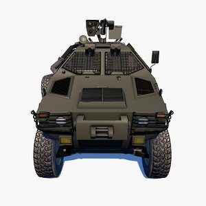 3D armored personnel
