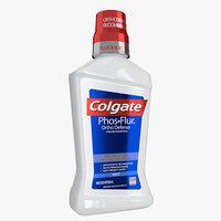 3D colgate mouthwash