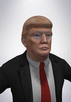 3D model donald j trump
