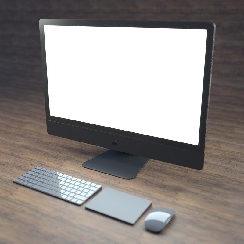 3D imac mac model