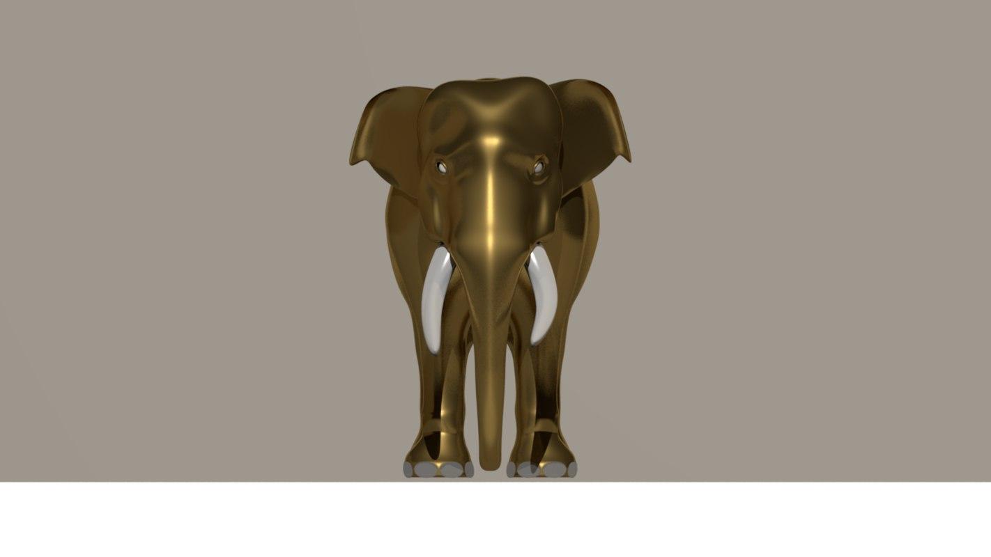 elephant 3D model
