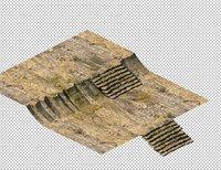3D cave stone