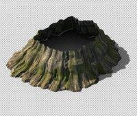 cave stone model