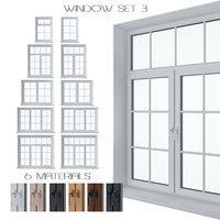 3D set windows