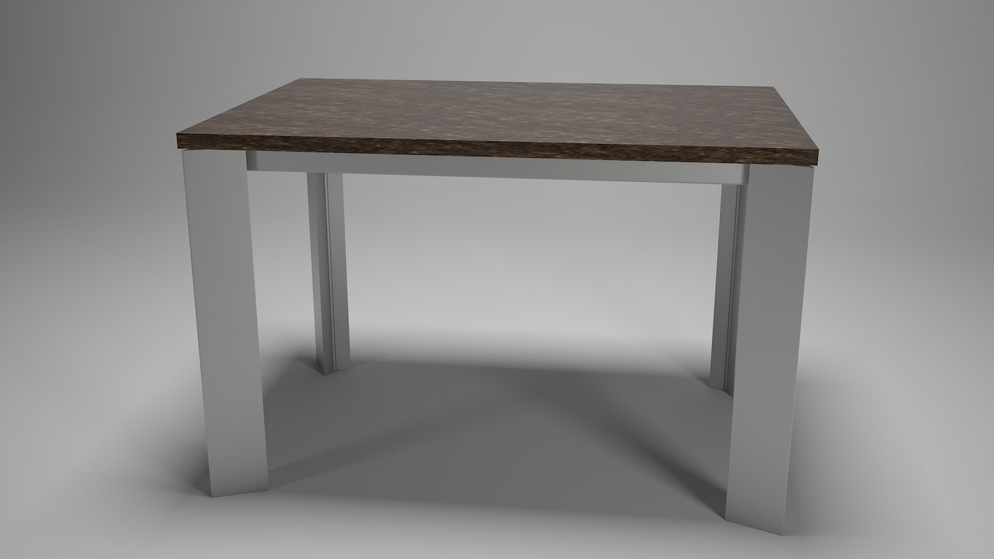 3D model table kitchen dining room
