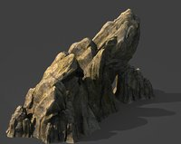 mountain hill landscape 3D