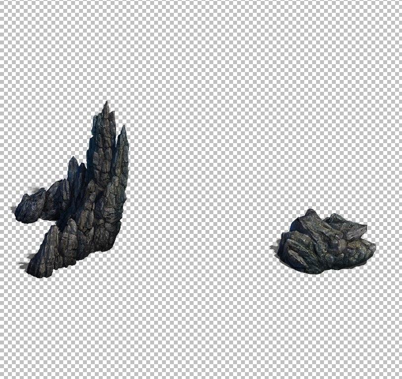 mountain hill landscape 3D