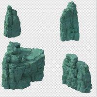 mountain 3D model 6353