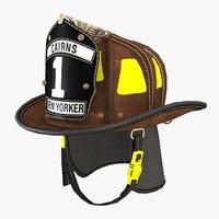 3D fireman cairns helmet