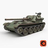 tank uralmash su 101 3D