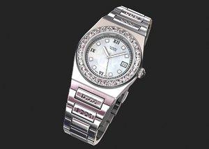 3D luxury wrist watch women
