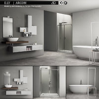 Bathroom furniture set Arcom e.Ly