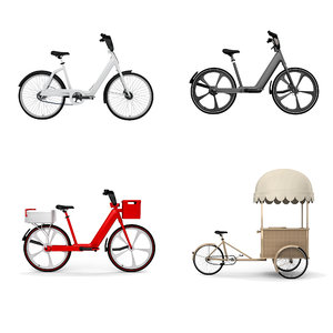 3D collections bicycle model