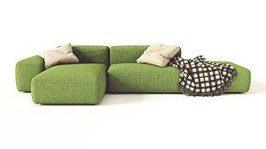 lapalma sofa 3D model