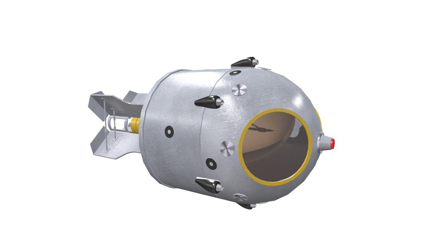 atomic bomb 3D