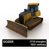 bulldozer heavy model