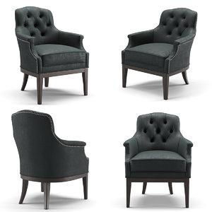 rochebobois manor armchair 3D