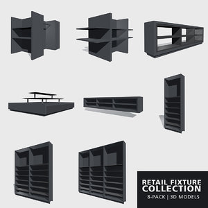 3D fixture wall