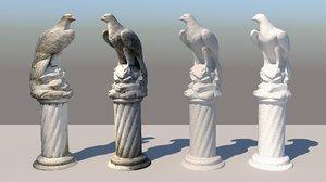 concrete eagle 3D