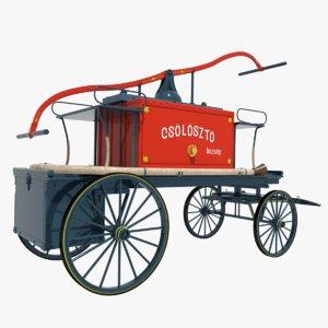 old cart 3D model