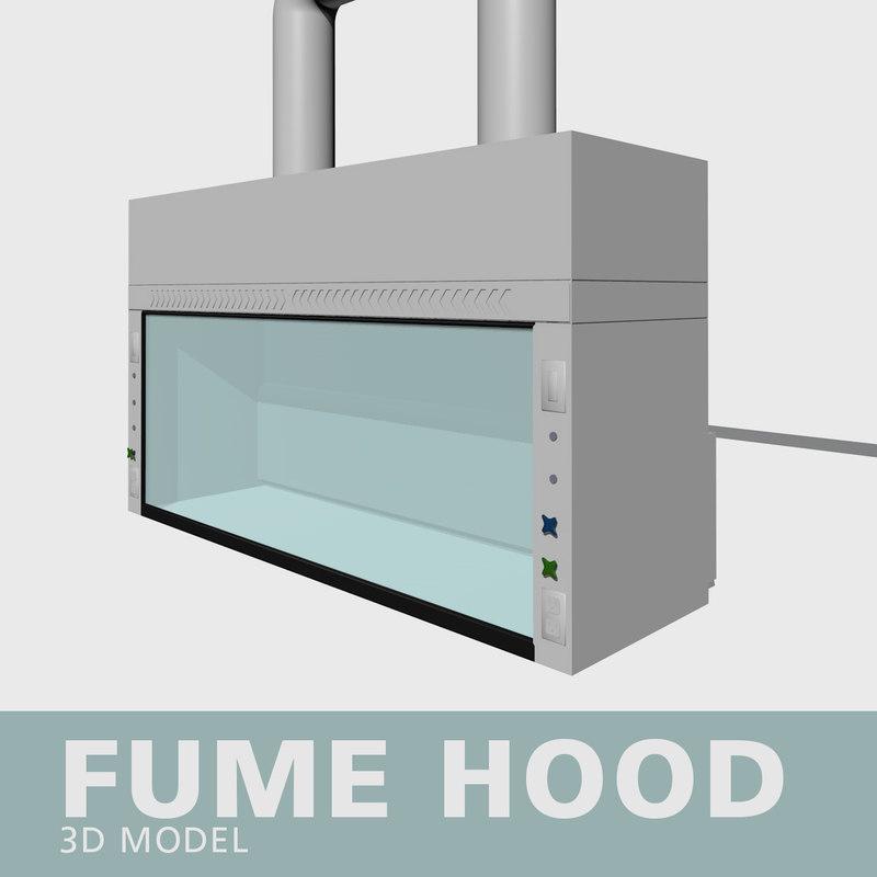 3D fume hood