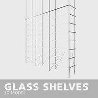 shelves glass model