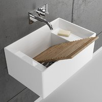 meg11 ceramic washbasin utility 3D