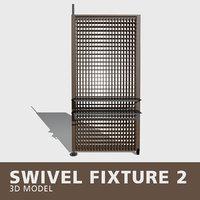 swivel fixture 3D model
