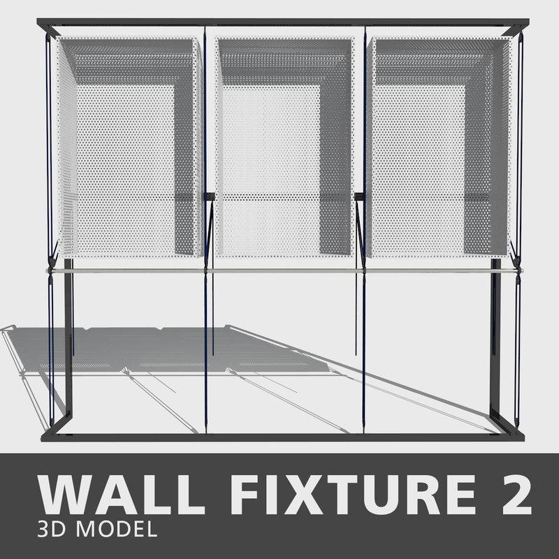 wall fixture 3D model