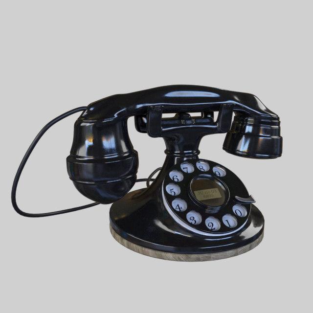 Antique Rotary Phone