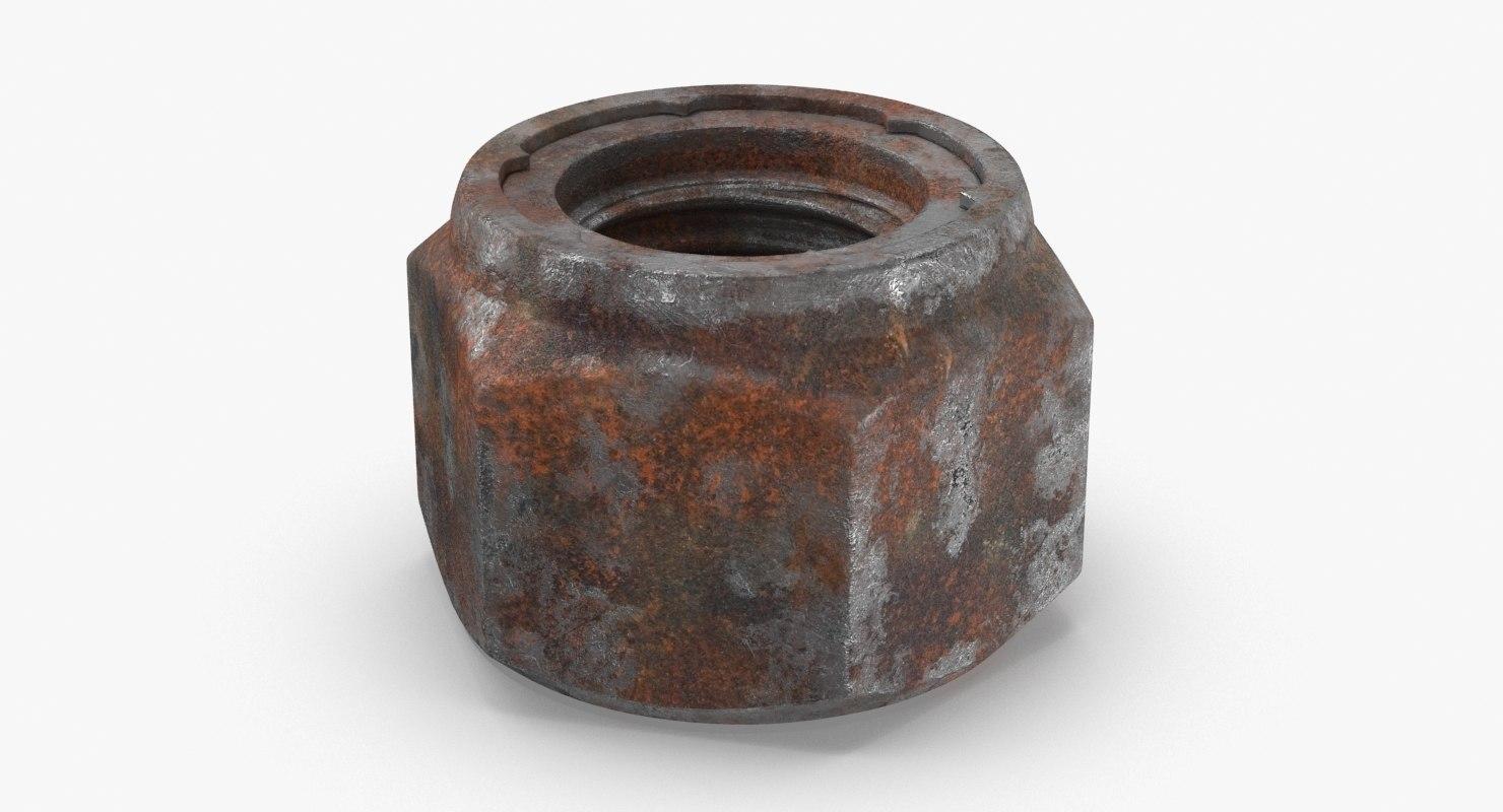 3D nut-02-dirty
