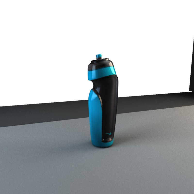 nike sport 600ml water bottle model