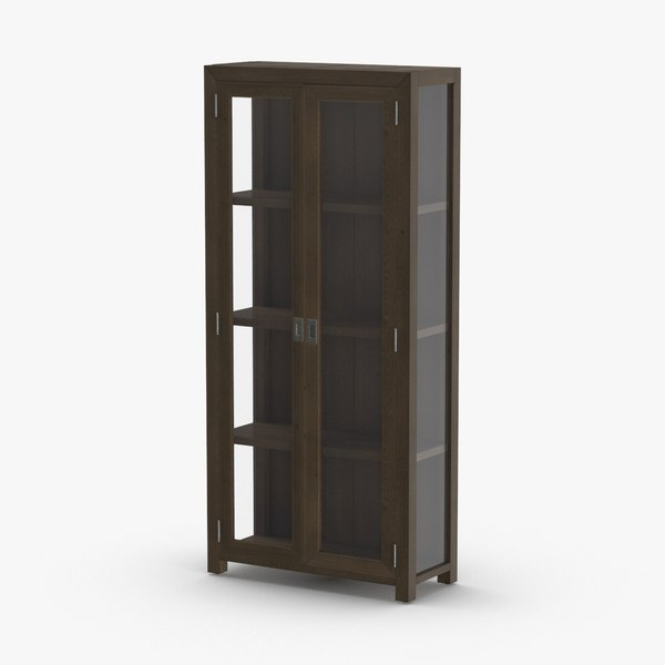 contemporary-display-cabinet 3D model