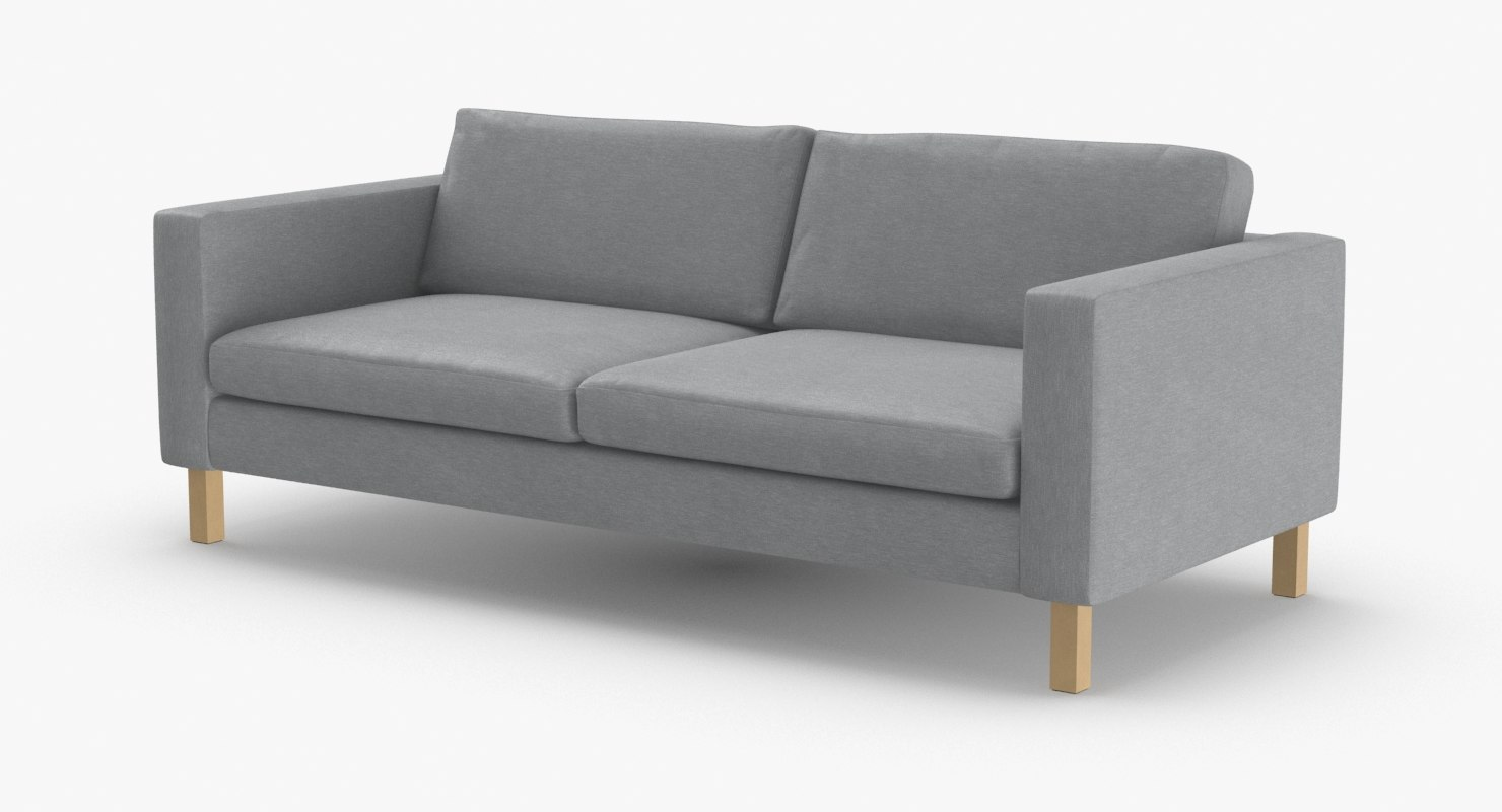 scandinavian-2-seater-sofa 3D model