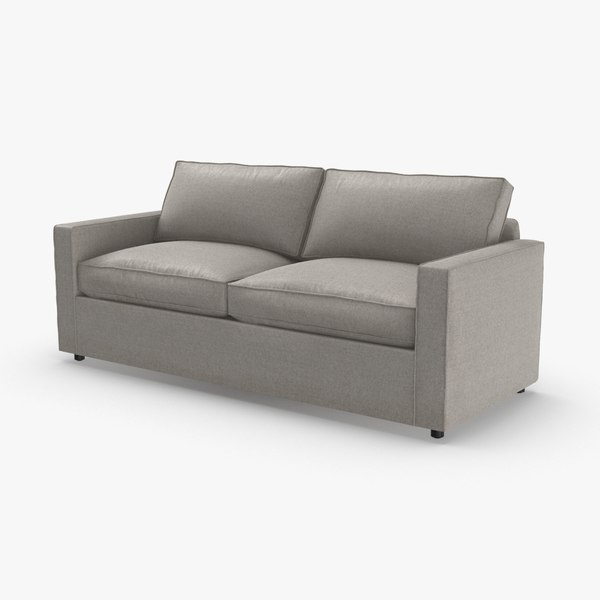 transitional-2-seater-sofa 3D model