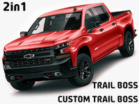 Chevrolet Silverado Trail Boss and Custom
