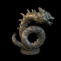 basilisk 3D model