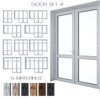 3D set doors model