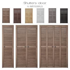 shutters 3D model