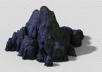 cave rock mountain mount 3D model