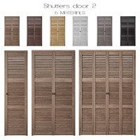 3D doors shutters
