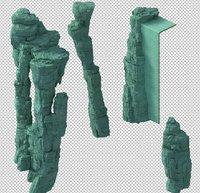 mountain 3D model   106