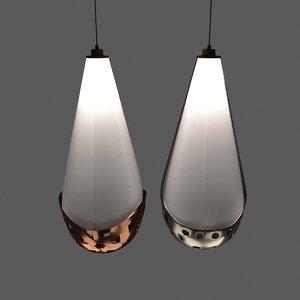 modern wall lamp set model