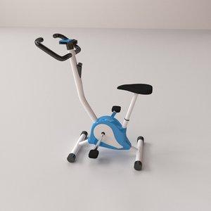 3D stationary bike
