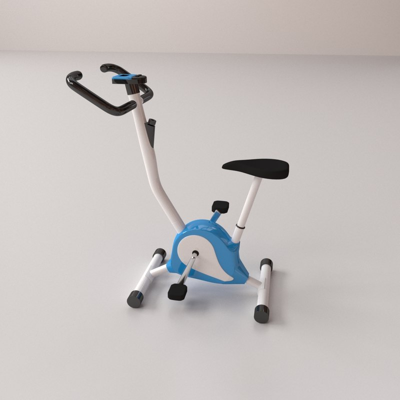 3D stationary bike