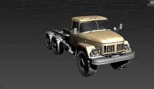 3D zil 131 model