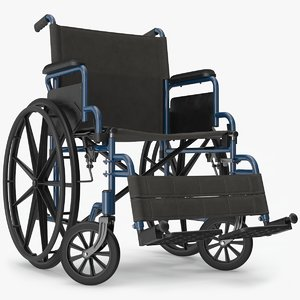 3D wheelchair model