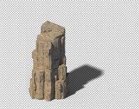 rocks 3D model 120